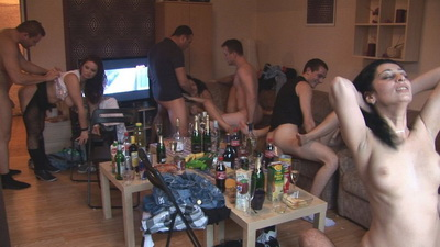 Czech Home Orgy pictures